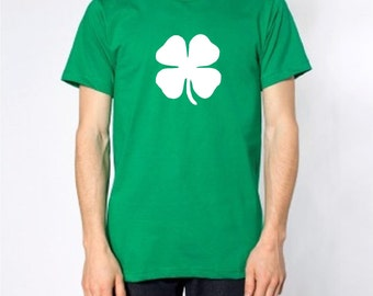 Lucky Clover St. Patrick's Day Irish Green T-Shirt s m l xl 2xl 3XL 4XL Saint Patrick's Tee Tees T-Shirts