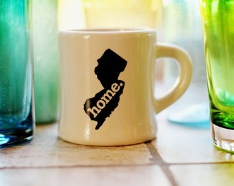 New Jersey home. Ceramic Coffee Mug