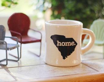 South Carolina home. Ceramic Coffee Mug