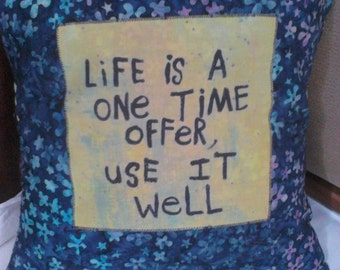Inspirational Cushion cover