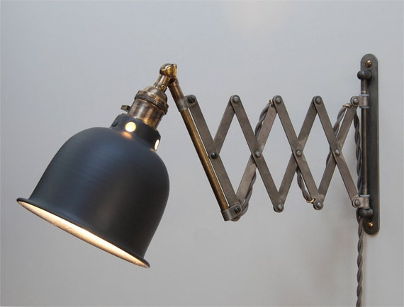 Custom For Teresa Scissor Lamp Industrial Wall Mount