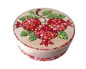 "Jewelry box ""Pomegranates, wooden jewelry box, small trinket box, box for girls, pomegranate decor, decorative box, armenian gifts"