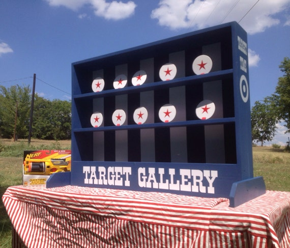 Nerf Tabletop Shooting Gallery Carnival Game For Birthday