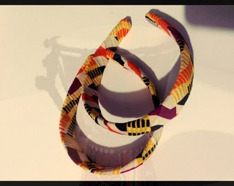Large autumn hairband
