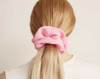 Scrunchie  ,Hair Fabric Hair Accessory , BUY 3  piece  get 1 scrunchie as gift   , CHOOSE a COLOR