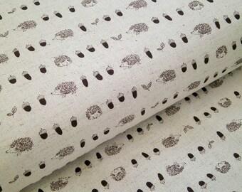 "0,5 m japanese fabric ""Hedgehog"" 110 cm br."