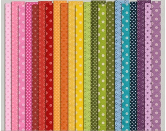 Dotty Cardstock Set 2 - Digital Scrapbooking Papers