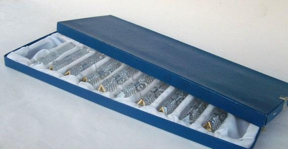 Les porte couteaux en cristal vintage fran ais for Les arts de la table