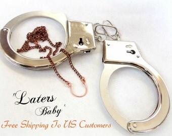 Laters Baby, Ana's Horseshoe Necklace, Fifty Shades of Grey Inspired Jewelry, Ana Steele Necklace, Dakota Johnson's Necklace, 50 Shades