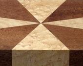 Valet Box in Pomelle Figured Sapele and Birdseye Maple (available) / gift for men / wooden box