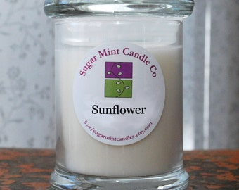 Sunflower Soy Candle - 8 oz