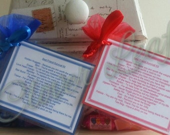 Handmade Novelty Friendship Best Friend Novelty Survival Kit