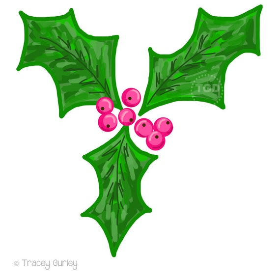 Holly Berry Clip Art holly clip art christmas clip art