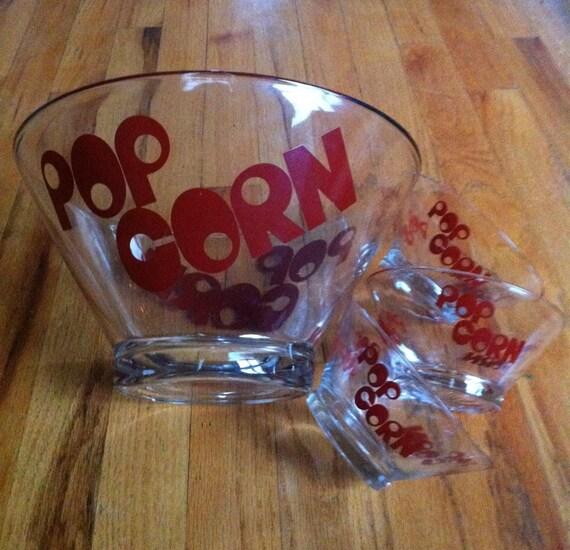 Vintage Popcorn Bowls 120