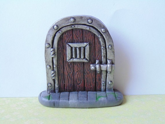 Dungeon style fairy door faerie door let the fey in your for The faerie door