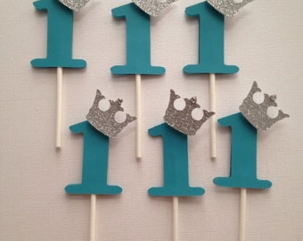Prince cupcake toppers