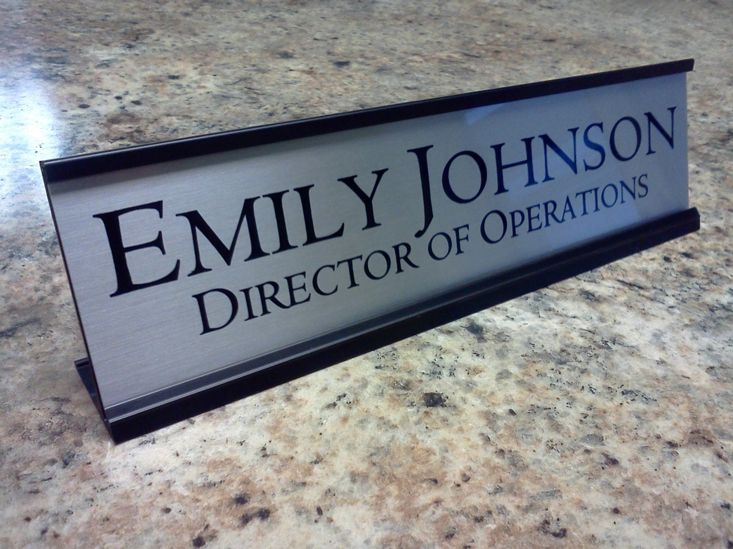 Office Name Plates: Customized Desk Name Plates