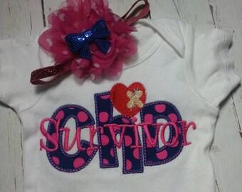 CHD survivor - CHD princess Embroidered Shirt - chd awareness shirt - chd awareness week- girls chd shirt