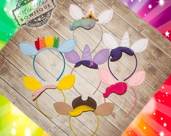 MLP Headband, My Little Pony Headband, Cosplay, Princess Celestia, Rainbow Dash, Fluttershy, Twilight Sparkle, Rarity,Apple Jack, Pinkie Pie