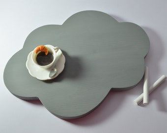 Nuvoletta wooden tray