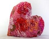 Heart Cushion, Heart Pillow, Nursery Room Decor,Soft Furnishings, Kids Cushion, Kids Pillow, Valentine Heart