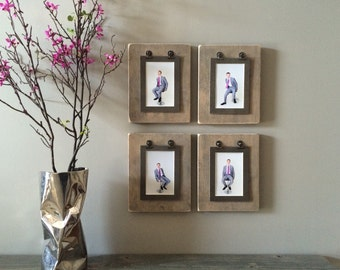 Katie Wood Clipboard Picture Frames//Rustic Clipboard Photo Frames//Unique Picture Frame//Interchangeable Picture Frame//Rustic Frame