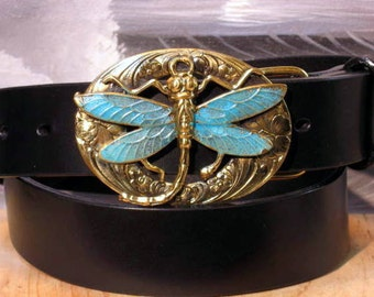 Dragonfly Buckle Belt
