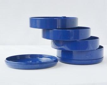InterDesign Round Plastic Desk or Jewelry or Craft Supplies Organizer