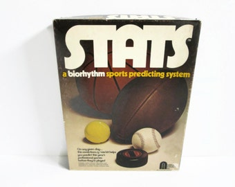 Stats Game Sports Predicting, Ashburn Industries, Pro Football, Basketball, Baseball, Hockey, Tennis, Data Sheets, Charts, Roster Booklet