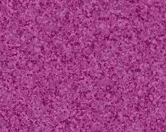 Dark Orchid Solid Textured Fabric - Quilting Treasures QT Basics Color Blender - 23528 VP - 1/2 yard