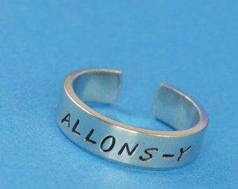 Allons-y Ring - Dr. Who - Doctor Who