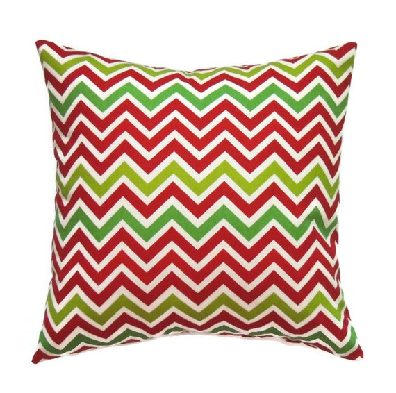 Christmas Decorative Pillows 18x18 Pillow Cover Red and