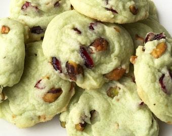 Cookies - Cranberry Pistachio Cookies - Cranberry Cookies - Pistachio Cookies - Gourmet Cranberry Pistachio Cookies
