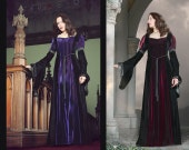 Christina Dress - Velvet Medieval Style Gown