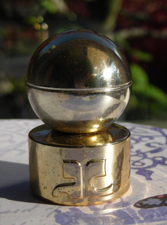 vintage courreges empreinte miniature parfum by thenineofcups. Black Bedroom Furniture Sets. Home Design Ideas