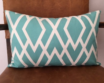 Diamante - Aqua Lumbar Pillow
