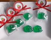 Valentines Day Favors - Frog Valentine Favors, Valentines Favors, Valentines for School, Class Favors, Teacher Valentine Gift - Set of 10