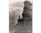 Give Thanks - Native American Quote - Edward Curtis Historic Photo Collection - Also available as a Print or a Quote Block (CPIC2013064)