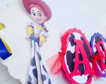Toys Story Jessie banner , Jessie banner , Jessie toys story name banner