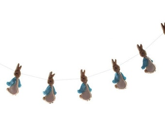 Peter Rabbit Garland - Beatrix Potter Nursery Banner