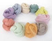 Merino Wool Tops - Pastels Bundle