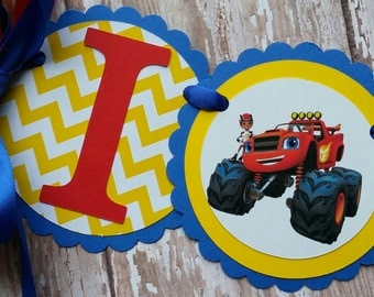 Blaze and the Monster Machines Birthday banner Blaze Invitations Blaze and the Monster Machines tags Blaze. Machines Party Blaze I am 1