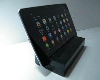 Tablet Holder/Stone iPad Stand/Media Holder