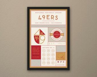 San Francisco 49ers Stats Print