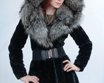 "Faux fur coat ""Classic"""