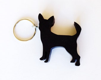 Chihuahua Keychain - Dog Keychains - Gifts for Dog Lovers - Chihuahua