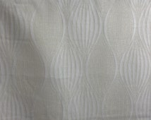 neutral cream bold pattern vintage upholstery fabric geometric curtain blinds cushions, chair covers, throws Fabric supplies  - Per Metre