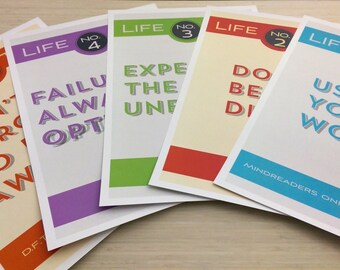Life Tips Poster Pack