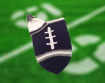Dallas Fan Favorite Baby Football Cocoon & Hat (Newborn to 3 months)
