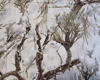Real Tree True Timber Fabric Snow Camouflage Camo Fabric From Springs Creative